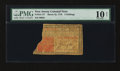 Colonial Notes:New Jersey, New Jersey March 25, 1776 3s PMG Very Good 10 Net....