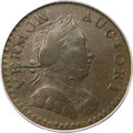 Colonials, 1787 COPPER Vermont Copper, Bust Right XF40 PCGS....