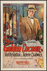 """The Golden Cocoon (Warner Brothers, 1925). One Sheet (26.5"""" X 41""""). Drama"""