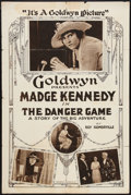 """Movie Posters:Comedy, The Danger Game (Goldwyn, 1918). One Sheet (28"""" X 42""""). Comedy....."""
