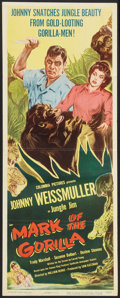 """Movie Posters:Adventure, Mark of the Gorilla Lot (Columbia, 1950). Insert (14"""" X 36"""") andLobby Cards (3) (11"""" X 14""""). Adventure.. ... (Total: 4 Items)"""