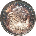 Early Dimes, 1805 10C 4 Berries MS62 PCGS....