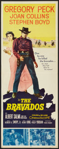 "Movie Posters:Western, The Bravados (20th Century Fox, 1958). Insert (14"" X 36"") andStills (4) (8"" X 10""). Western.. ... (Total: 5 Items)"