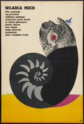 "Movie Posters:Adventure, Lord of the Flies (CWF, 1969). Polish One Sheet (22.25"" 23"").Adventure.. ..."
