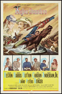 "Major Dundee (Columbia, 1965). One Sheet (27"" X 41""). Western"