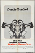 "Movie Posters:Crime, Dirty Harry/Magnum Force Combo (Warner Brothers, 1975). One Sheet (27"" X 41""). Crime.. ..."