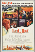 "Movie Posters:Adventure, Lord Jim (Columbia, 1965). One Sheet (27"" X 41"") Style B.Adventure.. ..."