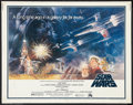 "Movie Posters:Science Fiction, Star Wars (20th Century Fox, 1977). Half Sheet (22"" X 28""). Science Fiction.. ..."