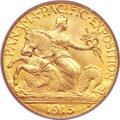 Commemorative Gold, 1915-S $2 1/2 Panama-Pacific Quarter Eagle MS66 PCGS....