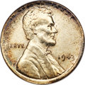 1943 Cent--Struck on a Dime Planchet--MS62 ANACS