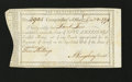 Colonial Notes:Connecticut, Connecticut Interest Payment. December 20, 1791. Choice AboutNew....