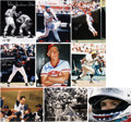 Autographs:Photos, Sports Stars Signed Photo Lot of 9.... (Total: 10 items)