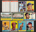Baseball Cards:Lots, 1951-1969 Topps Baseball Collection (56) With '56 Checklists, Ryanand Mantle! ...