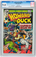 Bronze Age (1970-1979):Humor, Howard the Duck #3 (Marvel, 1976) CGC NM/MT 9.8 White pages....