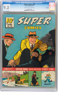 Golden Age (1938-1955):Miscellaneous, Super Comics #49 Rockford pedigree (Dell, 1942) CGC NM- 9.2 Cream to off-white pages....
