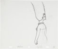animation art:Production Drawing, The Simpsons Marge Simpson Animation Production DrawingOriginal Art Group (Fox, undated).... (Total: 3 Items)