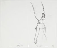 The Simpsons Marge Simpson Animation Production Drawing Original Art Group (Fox, undated).... (Total: 3 Items)