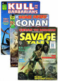 Magazines:Miscellaneous, Marvel Barbarian-Themed Magazines Group (Marvel, 1971-88)Condition: Average VG/FN.... (Total: 10 )
