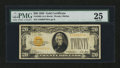Small Size:Gold Certificates, Fr. 2402 $20 1928 Gold Certificate. PMG Very Fine 25 EPQ.. ...