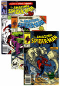 Modern Age (1980-Present):Superhero, The Amazing Spider-Man Short Box Group (Marvel, 1980s-2001)Condition: Average VF....