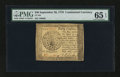 Colonial Notes:Continental Congress Issues, Continental Currency September 26, 1778 $40 PMG Gem Uncirculated 65 EPQ....