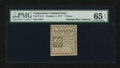 Colonial Notes:Connecticut, Connecticut October 11, 1777 7d PMG Gem Uncirculated 65 EPQ....