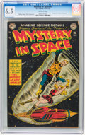 Golden Age (1938-1955):Science Fiction, Mystery in Space #5 (DC, 1952) CGC FN+ 6.5 Off-white pages....