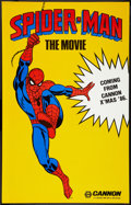 "Movie Posters:Action, Spider-Man (Cannon, 1985). Poster (29.5"" X 46.5"") Advance. Action....."