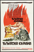 """Movie Posters:Fantasy, The Witch's Curse (Medallion, 1963). One Sheet (27"""" X 41"""").Fantasy.. ..."""