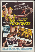 "Movie Posters:Adventure, White Huntress (American International, 1957). One Sheet (27"" X41""). Adventure.. ..."