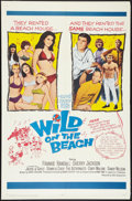 "Movie Posters:Comedy, Wild on the Beach (20th Century Fox, 1965). One Sheet (27"" X 41""). Comedy.. ..."
