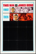 "Movie Posters:James Bond, You Only Live Twice (United Artists, 1967). One Sheet (27"" X 41"")Style B Advance. James Bond.. ..."