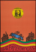"""Movie Posters:Comedy, Paper Moon (CRF, 1975). Polish One Sheet (22.5"""" X 33""""). Comedy.. ..."""