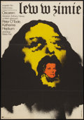 "Movie Posters:Historical Drama, The Lion in Winter (CWF, 1972). Polish One Sheet (23"" X 33"").Historical Drama.. ..."