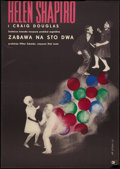 "Movie Posters:Rock and Roll, Ring-A-Ding Rhythm (CWF, 1963). Polish One Sheet (22"" X 32.5"").Rock and Roll.. ..."