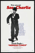 "Movie Posters:Comedy, Modern Times (Columbia Pictures, R-1972). One Sheet (27"" X 41""). ..."
