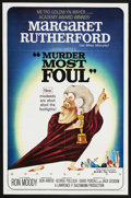 """Movie Posters:Comedy, Murder Most Foul (MGM, 1964). One Sheet (27"""" X 41""""). ..."""