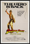 "Movie Posters:Adventure, Indiana Jones and the Temple of Doom (Paramount, 1984). Australian One Sheet (27"" X 40""). Adventure. Starring Harrison Ford,..."