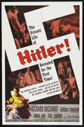 "Movie Posters:Historical Drama, Hitler (Allied Artists, 1962). One Sheet (27"" X 41""). ..."