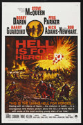 "Movie Posters:War, Hell Is for Heroes (Paramount, 1962). International One Sheet (27""X 41""). ..."