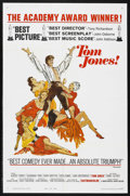 "Movie Posters:Academy Award Winner, Tom Jones (United Artists, 1963). One Sheet (27"" X 41""). ..."