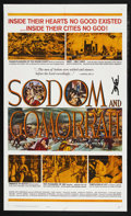 "Movie Posters:Historical Drama, Sodom and Gomorrah (20th Century Fox, 1963). One Sheet (27"" X 41""). Drama. Starring Stewart Granger, Pier Angeli, Stanley Ba..."