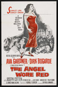"Movie Posters:War, The Angel Wore Red (MGM, 1960). One Sheet (27"" X 41""). ..."