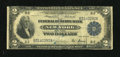 Error Notes:Double Denominations, Fr. 751 $2/$1 1918 Federal Reserve Bank Note Good-Very Good...