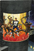 Original Comic Art:Covers, Gray Morrow - Marvel Preview #2 Punisher Cover Original Art(Marvel, 1972)....