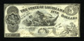 Obsoletes By State:Louisiana, Baton Rouge, LA- State of Louisiana $5 October 10, 1862 Cr-10. ...