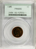 Proof Indian Cents, 1905 1C PR66 Red PCGS....