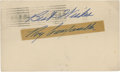 Autographs:Post Cards, 1949 Roy Campanella Signed Government Postcard....