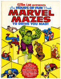 Bronze Age (1970-1979):Miscellaneous, Fireside Book Series: Marvel Mazes to Drive You Mad! (Simon andSchuster, 1978) Condition: VF/NM....