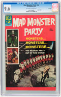 Silver Age (1956-1969):Humor, Movie Classics: Mad Monster Party - File Copy (Dell, 1967) CGC NM+ 9.6 Off-white to white pages....